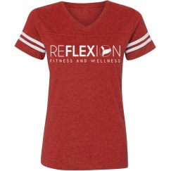 Ladies Relaxed Fit Vintage Sport Tee