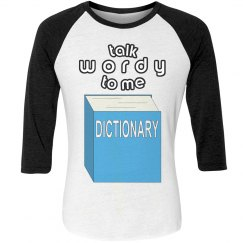 Dictionary Raglan