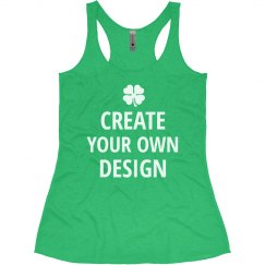 Custom St. Patrick's Day Run Tank