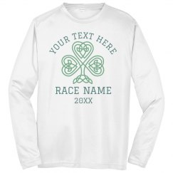 Shamrock Race Run Custom Shirts