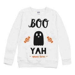 Boo Yah Halloween Sweatshirt