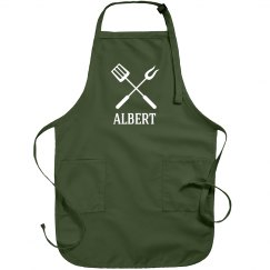 Albert Personalized apron