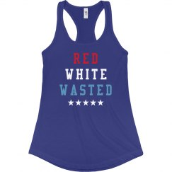 Red White Wasted Girl