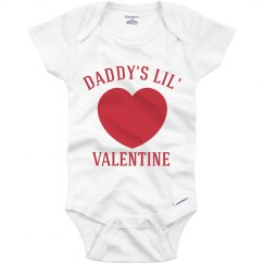 Daddy's Little Valentine Baby