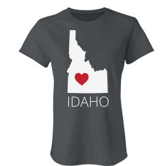 Custom Idaho Heart