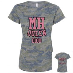 MH QUEEN/GONNA DO ME CAMOUFLAGE TEE (PINK L)