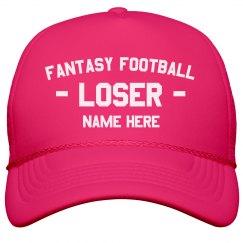 Fantasy Loser Custom Hat