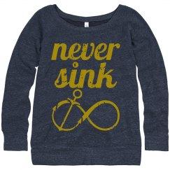 Never Sink SweatShirt
