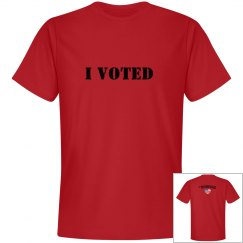 I Voted Men's T