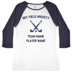 Field Hockey Tee