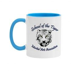 11oz Two Tone Mug with Logo