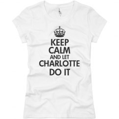 Let Charlotte do it
