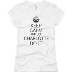 Let Charlotte do it