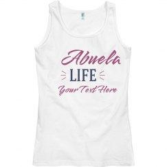 Abuela Life Custom Tank