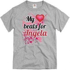My heart beats for Angela