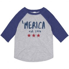 'Merica the Brave Vintage Toddler