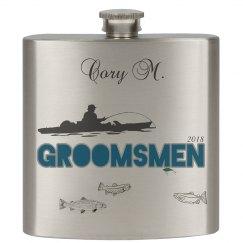Groomsmen Flask