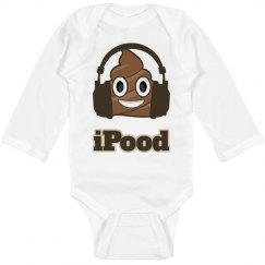 iPood Exclusive Baby Onesie