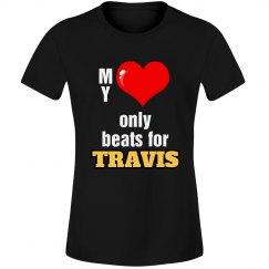 Heart beats for Travis