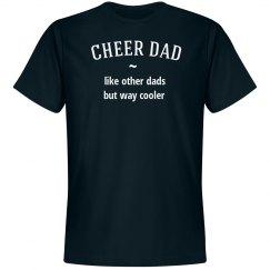 Cheer dad way cooler