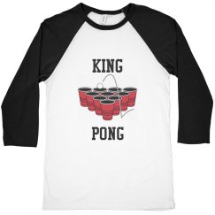 King pong men's t-shirt