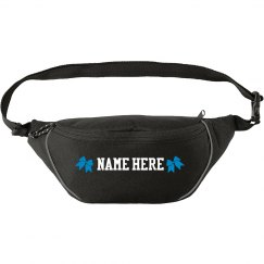 Cheer Bow Custom Name Fanny Pack