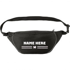 Add Your Name Custom Bow Waist Pack
