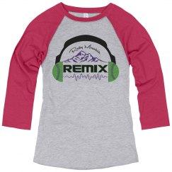 Misses Remix Raglan