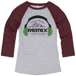 Misses Remix Raglan