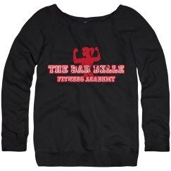 Off Shoulder BB Sweatshirt