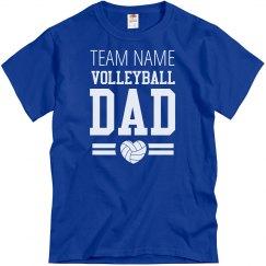 Custom Volleyball Dad