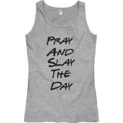 Pray and Slay Misses Tank Top