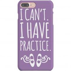 Purple Practice Dance Phone Case