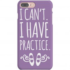 Purple Practice Dance Phone Case