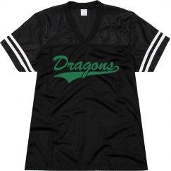 Carroll dragons shirt.