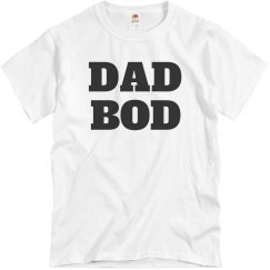 Dad Bod Fathers Day Gift Shirts