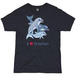 Dolphin Family Love