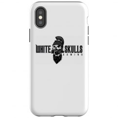 White Skulls Gaming Basic iPhone X Case