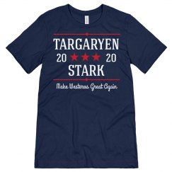 Make Westeros Great Again Funny Political Tee