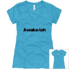 Awake-ish V-neck T-shirt
