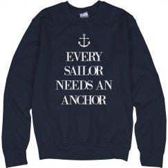 Cozy Every Sailor Needs An Anchor