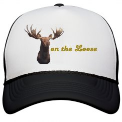 Moose on the Loose Trucker Cap