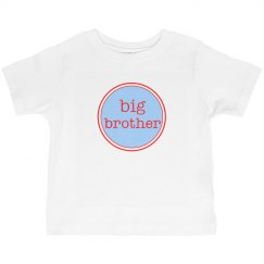 Big Brother Shirt Blue Red