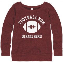 Football Mom Custom Sweatshirt