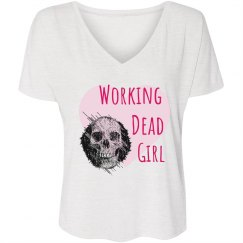 Working Dead Girl Slouchy Tee