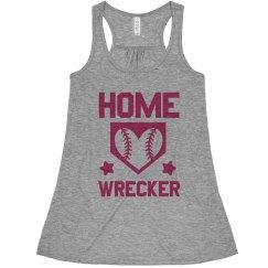 A Softball Home Wrecker