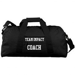 Square Duffel Bag -Team Impact Coach
