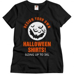 Design Your Own Halloween Tees!