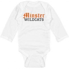 Minster Wildcats onesie