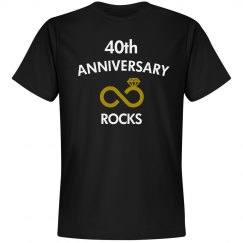 40th anniversary rocks